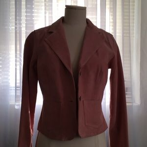 Vintage B.B. Dakota 100% Real Suede pink jacket